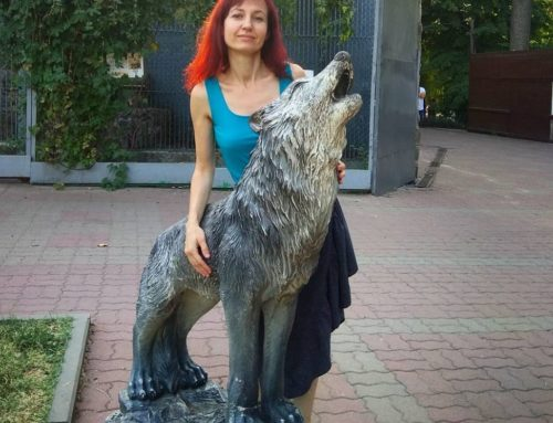 Large Life-Sized Popular Wolf Statue Outdoor