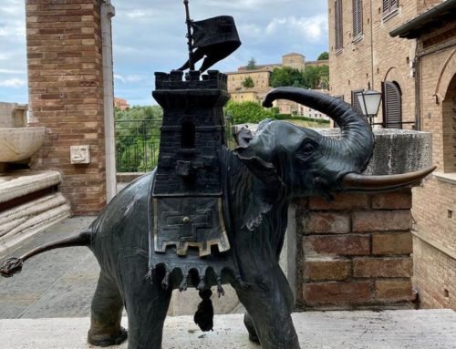 Life Size Outdoor Bronze Elephant Ornaments