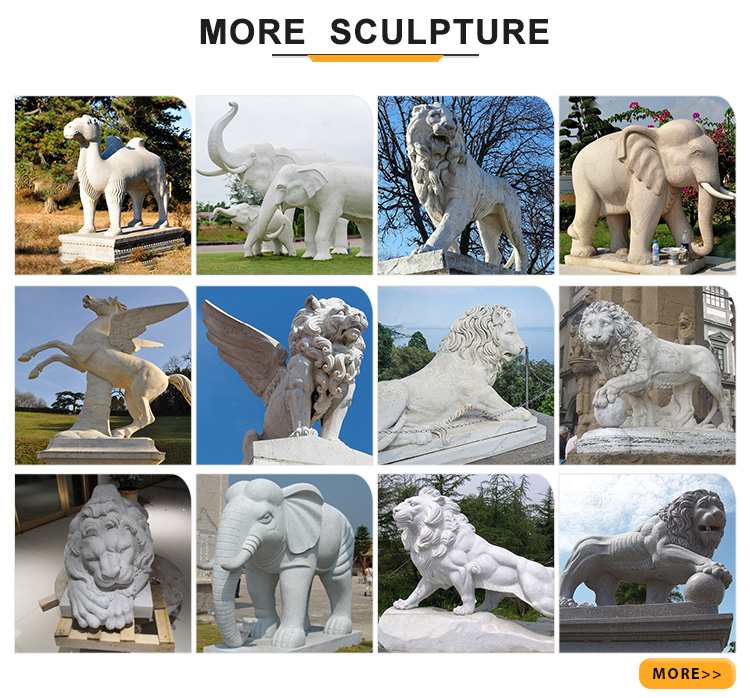 More sculptures
