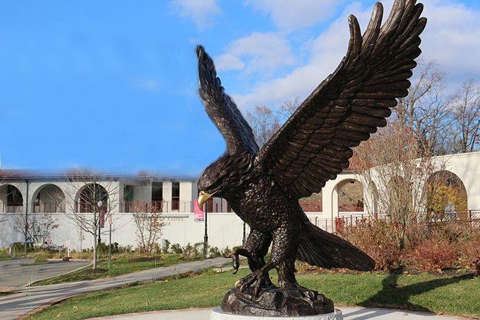 eagle garden statues outdoor