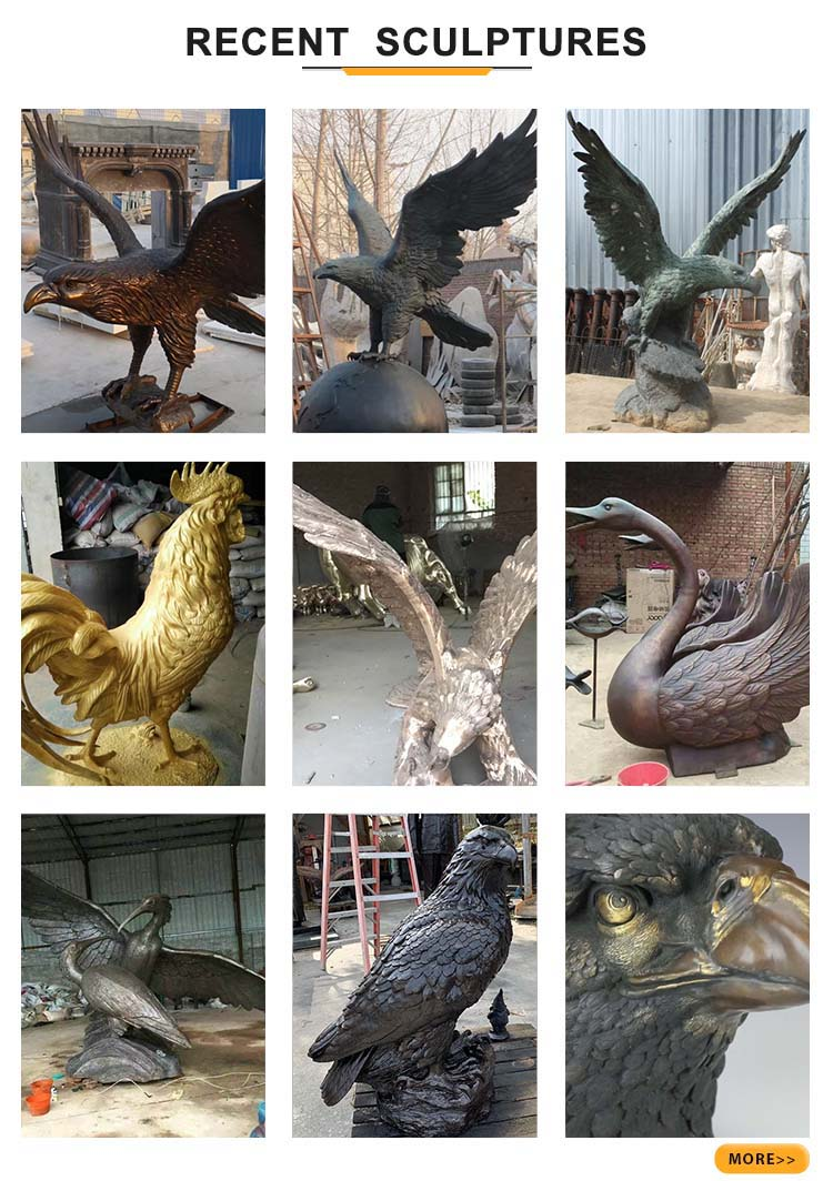 eagle recent sculptures
