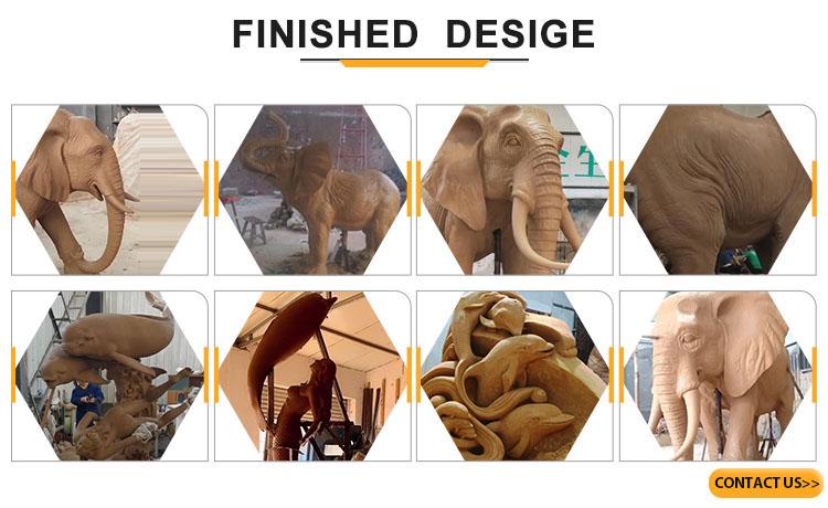 elephant finished design