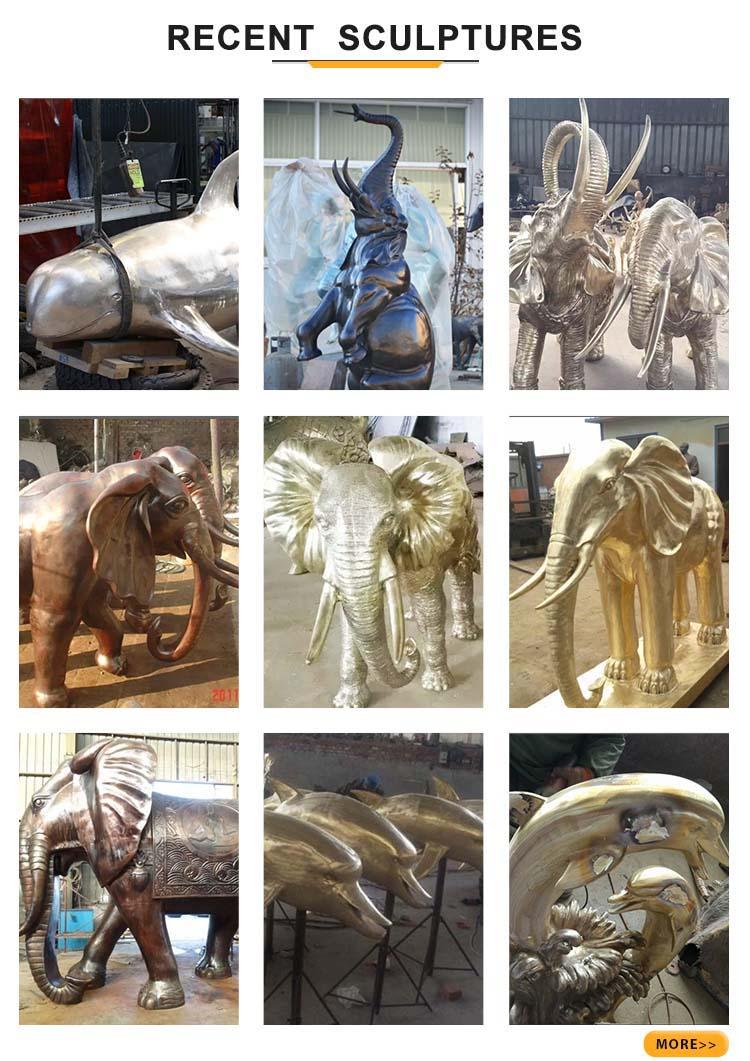 elephant recent sculptures
