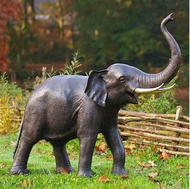 large elephant statues for home decor