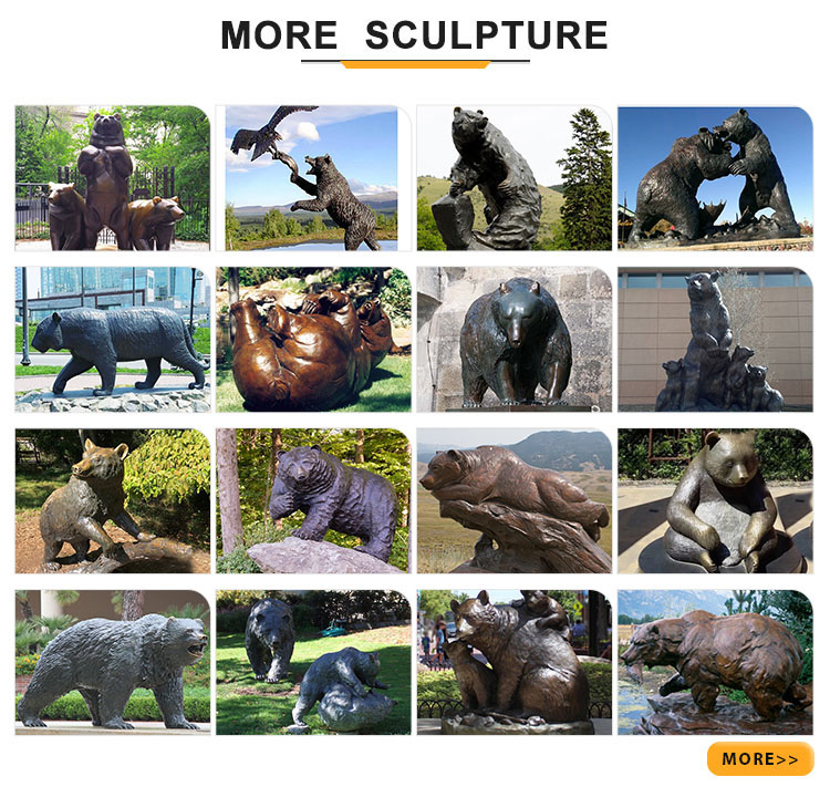 more bear sculptures