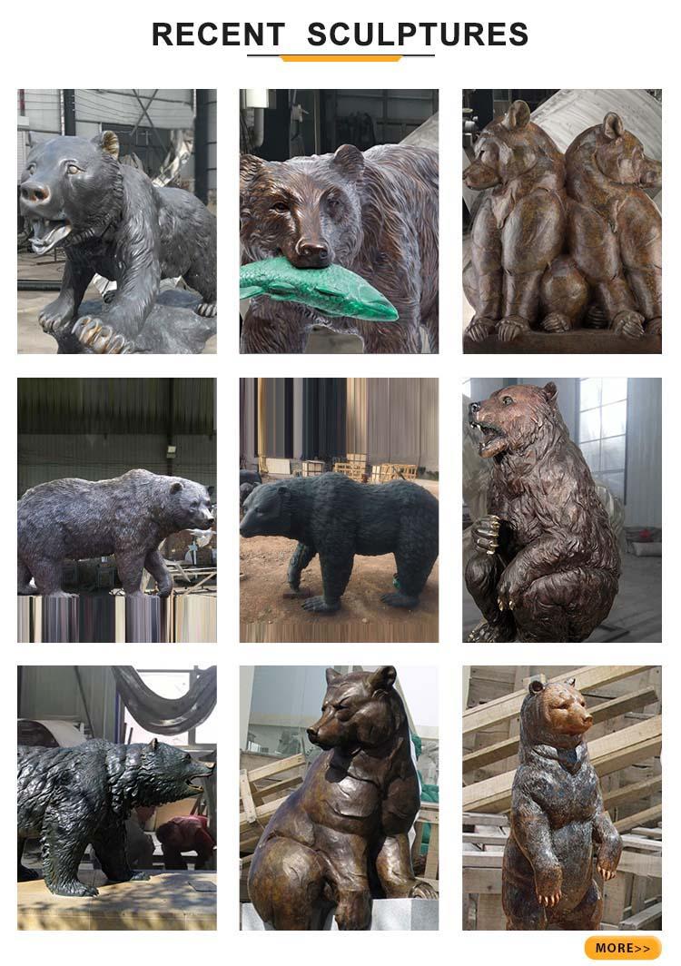 recent bear sculptures