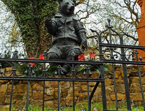 Outdoor Garden High Quality Bronze Bear Decor Sculpture for Sale
