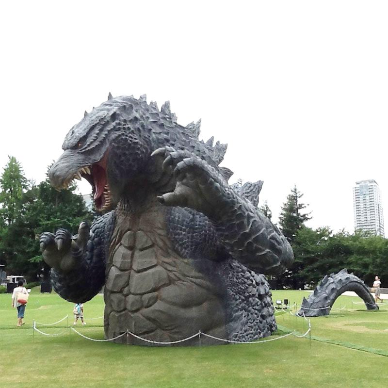 Resin Dinosaur Statue