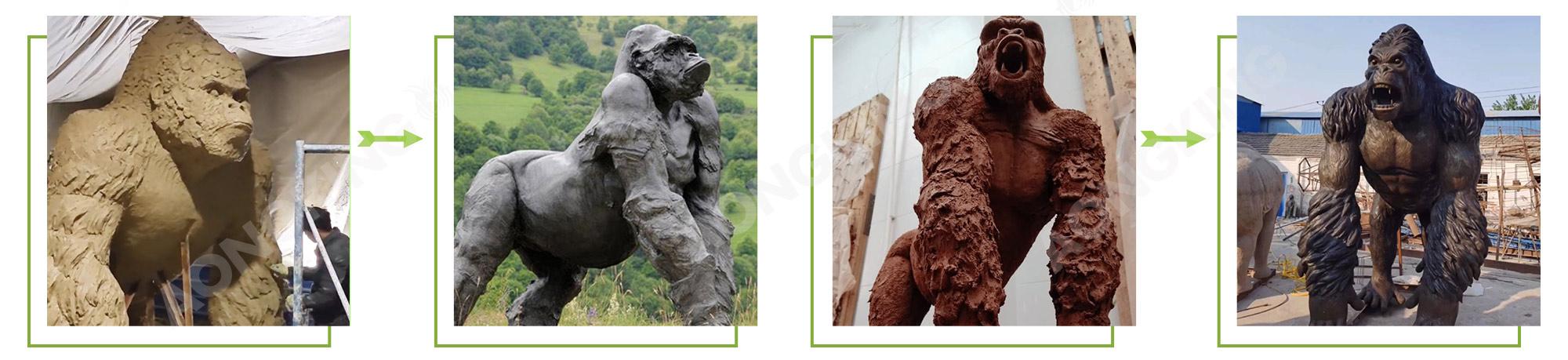 gorila statue